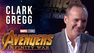 Clark Gregg Live from the Avengers: Infinity War Premiere