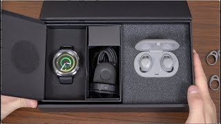 New Samsung Gear Sport and IconX (2018) Unboxing!