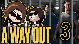 A Way Out: Good Toilet - PART 3 - Game Grumps
