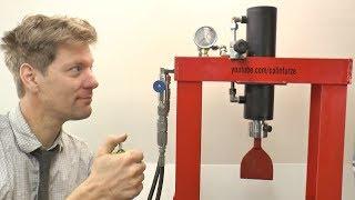 Workshop Hydraulic System/Press conversion