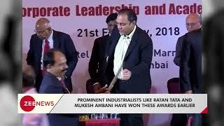 Rajya Sabha MP Subhash Chandra honored with Entrepreneur of the Decade award