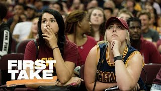 Where Do The Cleveland Cavaliers Go From Here? | First Take | June 13, 2017