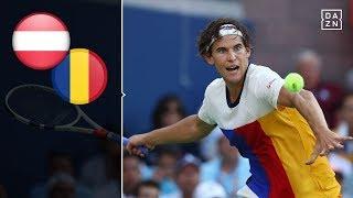 Dominic Thiem sorgt für Klassenerhalt   Österreich - Rumänien   Highlights   Tennis Davis Cup   DAZN