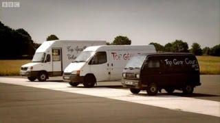 Man with a van challenge part 1 - Top Gear - BBC