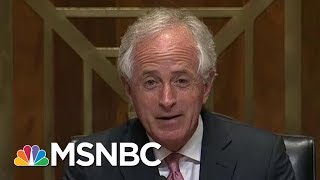 President Donald Trump Responds To Senator Bob Corker, GOP Remains Guarded | Morning Joe | MSNBC