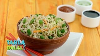 वेजिटेबल फ्राईड राईस (Vegetable Fried Rice) by Tarla Dalal