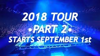 Tour Announcement Fall 2018