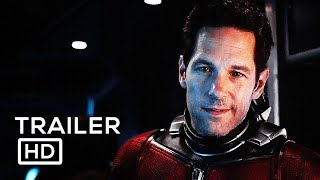 ANT MAN 2 Official Trailer (2018) Ant Man and The Wasp, Paul Rudd Marvel Superhero Movie HD