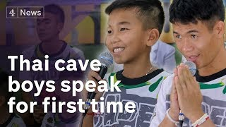 Thailand cave rescue: Boys tell the story of their 'miracle' survival