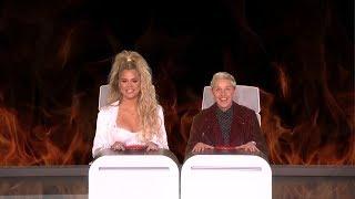 Khloe Kardashian Answers Ellen