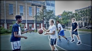 White Kids VS. The Hood in Basketball!