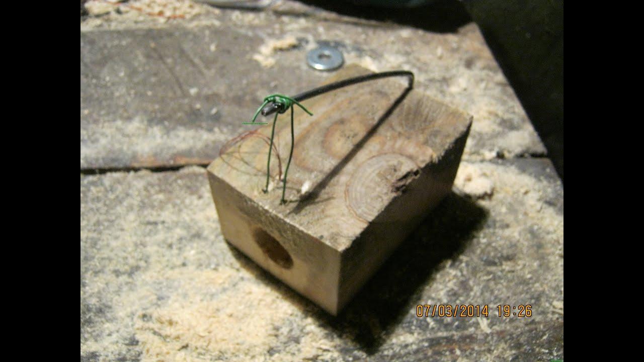 Деревянная мышь как сделать