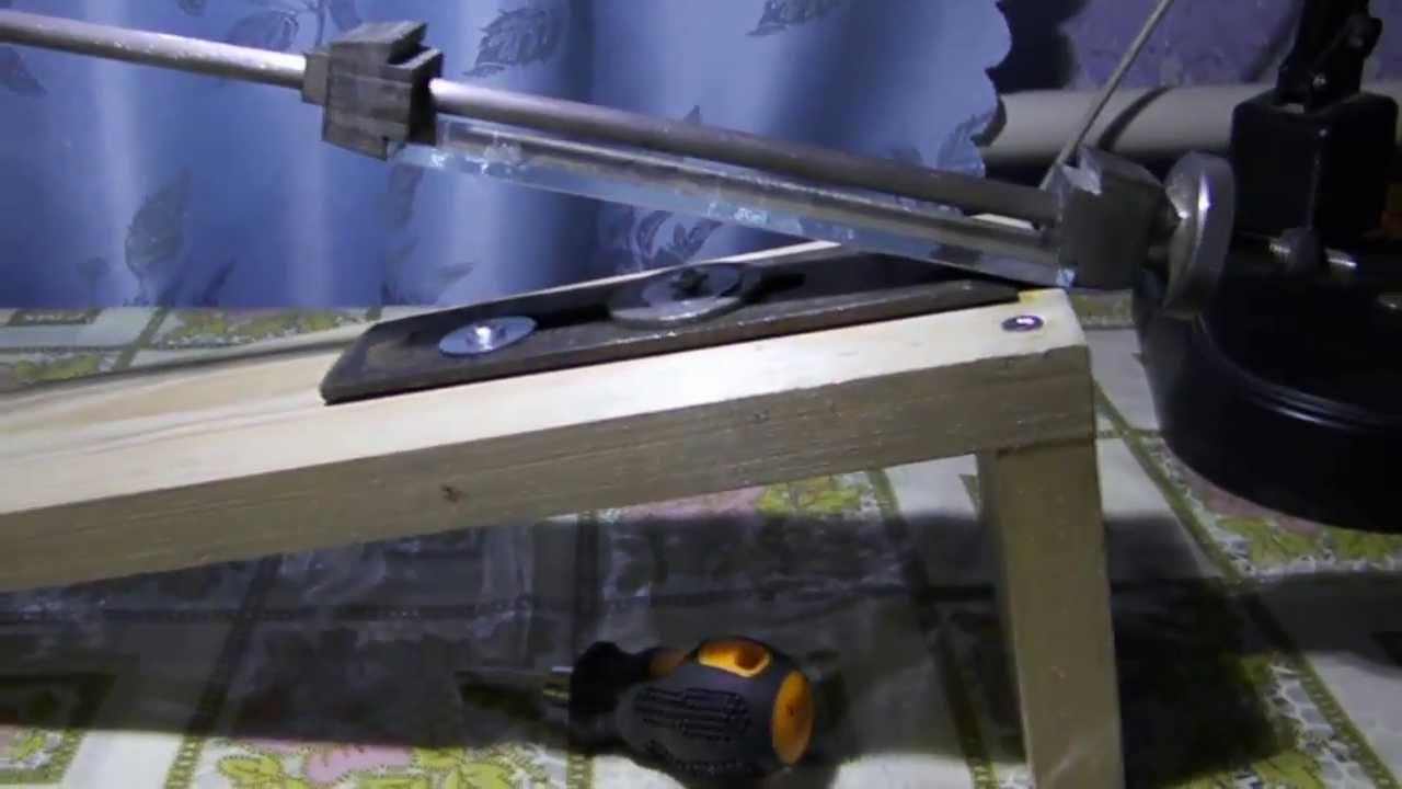 Из чего сделать точилку для ножей своими руками