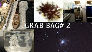 Astrophotography, Copper Oxide, Reverse Crystals Gardens, A DIY Cello and More! - Grab Bag # 2