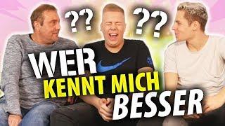 WER KENNT MICH BESSER!? mit Rewinside & Papa 😂