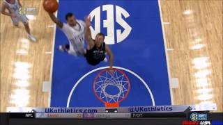 Mychal Mulder Posterizing Dunk on Asbury - Sportscenter Top 10 Nominee
