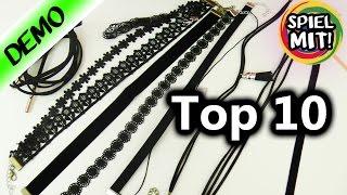 TOP 10 CHOKER KETTENamazon| Coole Sammlung mit 90er Ketten | Fashion HAUL für Barbie