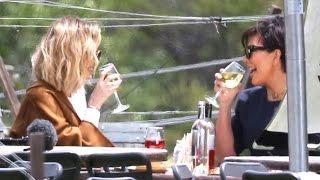 Kris Jenner Drowns Her Anger Over Caitlyn