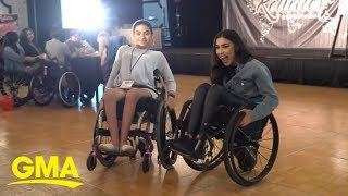 The Rollettes, a wheelchair dance team, make connections way bigger than dance | GMA