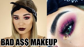 BAD B!TCH MAKEUP TUTORIAL | Shani Grimmond
