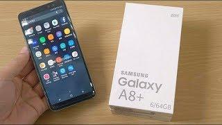 Samsung Galaxy A8+ (2018) Live infinity Display !!!