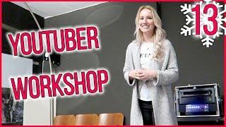 YOUTUBER WORKSHOP - In der Ruhe liegt die Macht? Vlogmas Tag 13 - Kathi2go