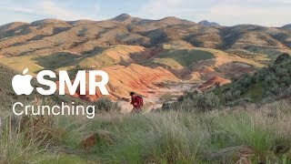 Apple ASMR — Crunching sounds on the trail
