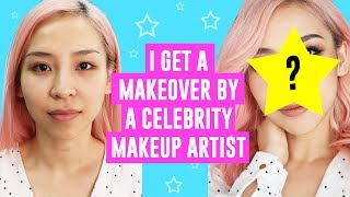 I Get A Makeover By A Celebrity Makeup Artist!