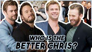 Chris Evans, Hemsworth & Pratt Reveal WHO IS THE BETTER CHRIS   Funny Moments Avengers: Endgame
