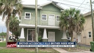 Child dead after being shot by sibling