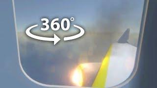 Plane Crash 360 Video | VR 4K Experience