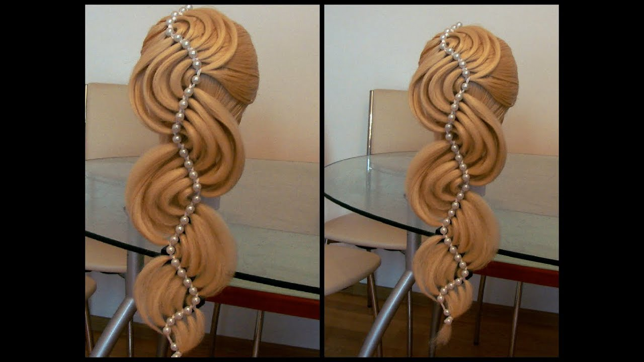 Плетение с лентой с видео