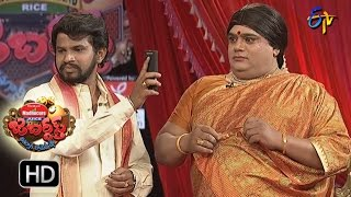 Hyper  Aadi Raijing Raju Performance | Jabardsth | 11th May 2017 | ETV  Telugu