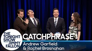Catchphrase with Andrew Garfield and Rachel Brosnahan