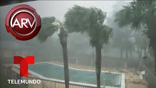 Huracán Michael arrasa todo a su paso   Al Rojo Vivo   Telemundo