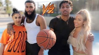Love and Basketball! DDG & Kennedy vs. Queen Naija & ClarenceNYC TV