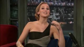 Jennifer Lawrence Late Night with Jimmy Fallon 2010