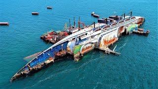 10 GIANT Abandoned Ships !