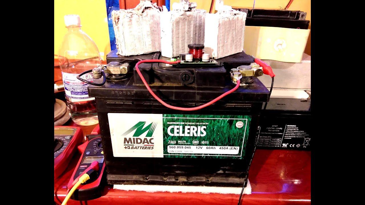 Восстановление аккумулятора от ибп своими руками