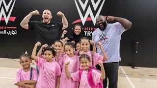 Mojo Rawley, Mark Henry encourage Al-Oula kids in Jeddah