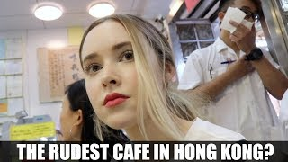 The Rudest Cafe in Hong Kong? | Eating Food With Foodies On Friday Ep. 5