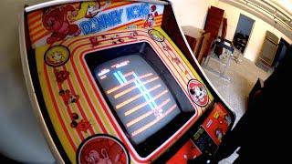 Ein Stück Kindheit zurück! Original Donkey Kong Arcade Automat 1981 gekauft =)