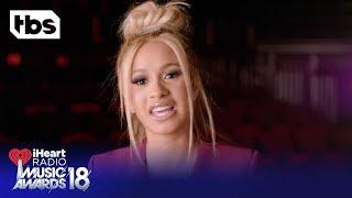DJ Khaled, Cardi B and Ed Sheeran Intro the 2018 iHeartRadio Music Awards   TBS