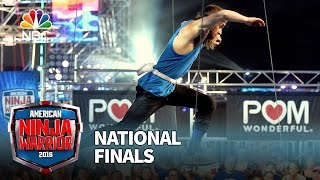 Jake Murray at the National Finals: Stage 1 - American Ninja Warrior 2016