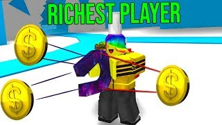 BECOMING THE RICHEST PLAYER with the BEST MAGNET (Roblox Magnet Simulator)