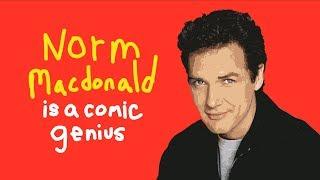 Norm Macdonald Is A Comic Genius