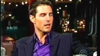 Tom Cruise goes crazy live on Letterman