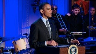 President Obama Hosts In Performance at the White House: Memphis Soul