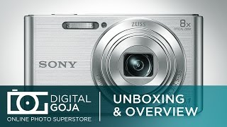 Sony DSC W830 Cyber Shot Digital Camera 20.1 Megapixel   Unboxing & Overview