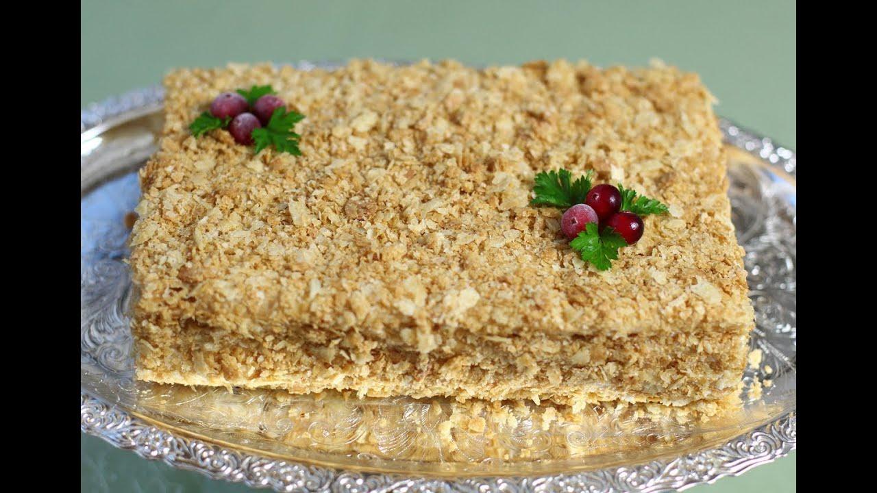 торт наполеон рыбный с фото